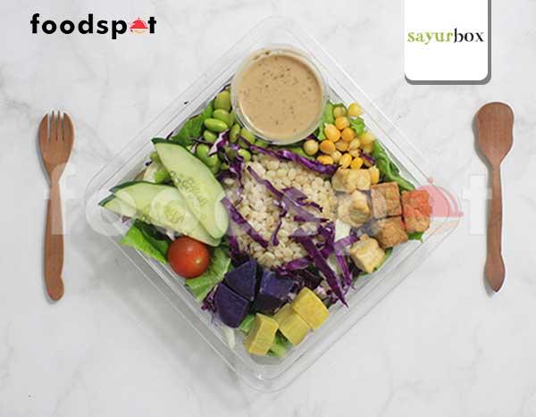 Veggie Bowl with Sesame Dressing