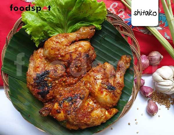 Ayam Bakar Bumbu Roejak (whole)