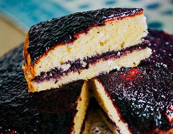 Bluberry Cake