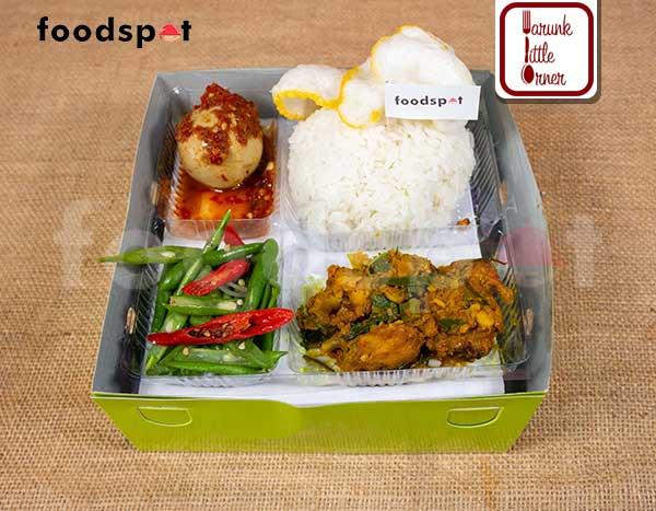 Nasi Ayam Woku